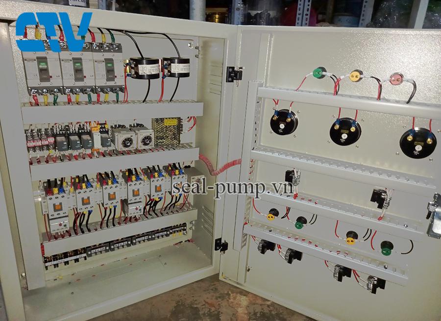 Tủ điện cho máy bơm cấp nước sạch sinh hoạt